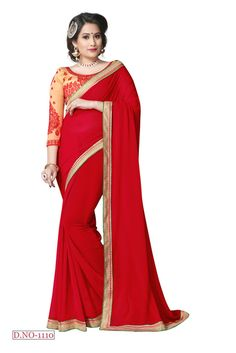 Ridhdhi Creation Georgette Designer saree - Harikrishna Fashion Sarees for indian woman