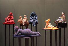 Artist of the day: Artist of the day, March 3-4: Yulia Ustinova, Russian crochet artist, sculptor