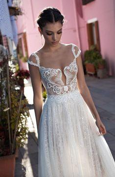 Courtesy of Gali Karten Bridal Wedding Dresses; Wedding dress idea.
