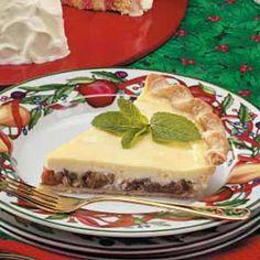 Sour Cream Plum Pie Recipe
