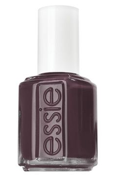 Essie- Smokin Hot, I love this brown with a hint of purple color