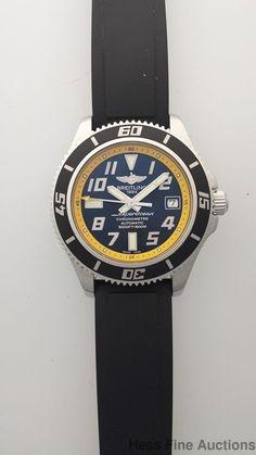 Genuine Breitling Superocean 42 A17364 Date Automatic Mens Wrist Watch…