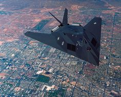 F117 Stealth Fighter is one of the planes my brother flew while in the USAF.  So proud of his service.