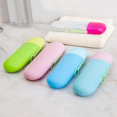 Cheap toothbrush case, Buy Quality toothbrush box directly from China portable toothbrush Suppliers: Portable Toothbrush Box Bath Product Protect Toothbrush Case Holder Camping Toothbrush Case Cover Travel Hiking Box Tube Outdoor Toothbrush And Toothpaste Holder, Toothbrush Storage, Travel Box, Travel Kits, Box Container, Lotion, Cosmetic Containers, Bottle Box, Bathroom Accessories Sets