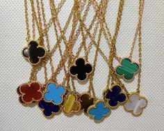 van cleef and arpels necklace alhambra - Google Search
