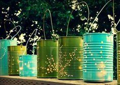 lanterne récup boite de conserve
