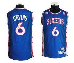 NBA jerseys 76ers Julius Erving, No. 6 - Owen fans edition retro blue jersey basketball clothes Unit Price: $19.00 http://www.alsotao.com/product/12358925542/nba766erving--