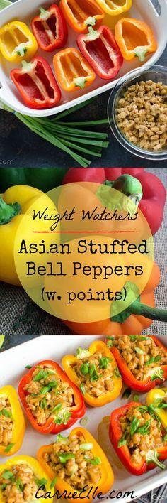 Weight Watchers Stuffed Bell Peppers