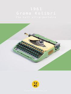 The legendary ultra-portable Groma Kolibri!