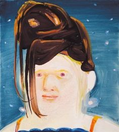 Albino With Wig by Dana Schutz in Post War and Contemporary Art Day Sale on October 2018 at the null null sale lot 203 Dana Schutz, Chantal Joffe, Elly Smallwood, Modern Art, Contemporary Art, Top Artists, Albino, Heart Art, Cartoon Art