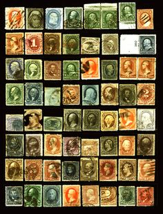20% Off Sale on #rarestamps US 19th Century Lot 1851-1898 Used Classics #Confederate  Odds n Ends Nice Lot 61 items Visit LittleArtTreasures.com