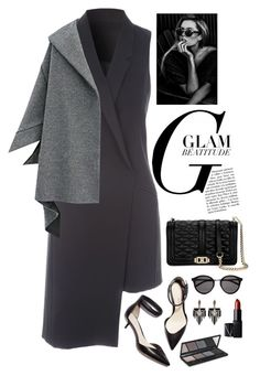 """""""Dark"""" by musicfriend1 ❤ liked on Polyvore featuring Jane Norman, 3.1 Phillip Lim, Rebecca Minkoff, Yves Saint Laurent, Lulu Frost, NARS Cosmetics and Topshop"""