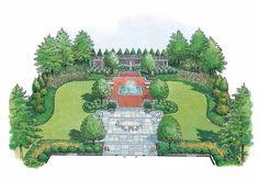 HWBDO11003 - Landscape Plan from BuilderHousePlans.com