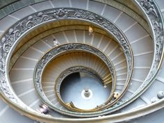 was here over the summer! And was obsessed with the staircase took so many photos! Vatican in Italy