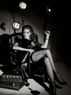 Interview October 2014: Jessica Chastain by Craig McDean - the Fashion Spot