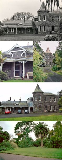 Mooleric Homestead, Birregurra (134km SW of Melbourne), built in 1871, was designed by architects Davidson & Henderson for the pioneering merchant and politician, James Ford Strachan. In 1923 a bluestone double-storey wing was added, with a corner bay window placed to command a view of the garden and distant Otway Ranges. Botanist William Guilfoyle designed the garden in 1903 for the then owner, Mrs Isabella Ramsay. The Ramsay family have owned the property since 1899.