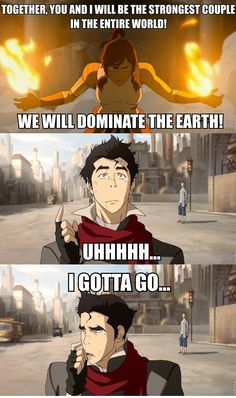 #Mako and his faces sell this. XD #Korra. Hahaha I remember this from avatar the last airbender