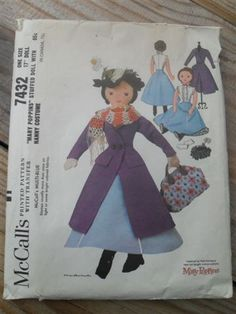 Mary Poppins Doll pattern