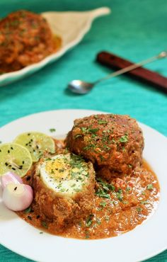 Nargisi Kofta Curry, Nargisi Kofta recipe is an awesome dish which will be a… Veg Recipes, Spicy Recipes, Curry Recipes, Indian Food Recipes, Asian Recipes, Vegetarian Recipes, Chicken Recipes, Cooking Recipes, Healthy Recipes