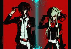 Lelouch and C.C. ----- Only those who kill should be prepared to be killed.