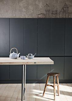 » Une maison en nuance de gris » Blog déco FactoryChic - Carnet de tendance et d'inspiration