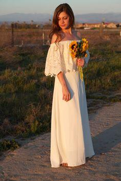 Hippie Style Vintage Wedding Dresses Unique Wedding Dresses Lace