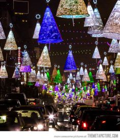 Awesome Christmas lights in Bucharest…