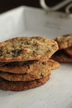 Gooey + Chewy Gluten Free Cookies