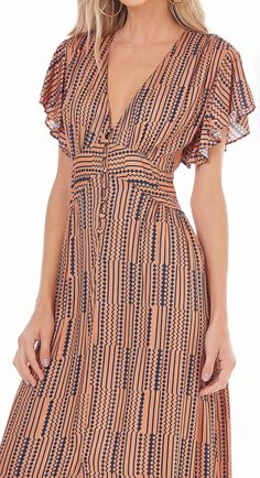 Adorable 80 Printed Maxi Dresses able Addict gram style Cute Dresses, Casual Dresses, Fashion Dresses, Maxi Dresses, Modest Summer Outfits, Summer Dresses, Look Chic, Wrap Dress, Clothes For Women