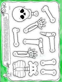 Free Printable Skeleton