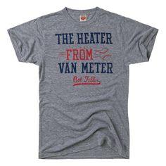 HOMAGE Bob Feller Heater from Van Meter Baseball T-Shirt - $28.00