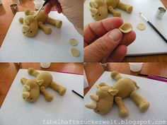 Mini-Rhino (Fondant - can be done with polymer)