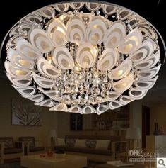 Free shipping, $366.5/Piece:buy wholesale crystal flushmount ceiling lighting lamp fixture chandelier of Crystal,LED,1 ~ 3,Pendant,AC110~240V from DHgate.com, get worldwide delivery and buyer protection service.