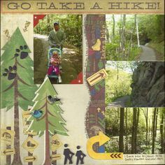 hiking scrapbook ideas - Google Search