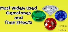 Most Widely Used Gemstones and Their Effects
