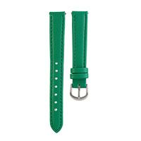 INTERCHANGEABLE GREEN LOCKET BRACELET STRAPS The Interchangeable Locket Bracelet Straps in green will have on-lookers green with envy. Layer it with the Titanium and Pearl Crystal Wrap or Silver Tone Rolo Chain Bracelet to complete the look!   Product material: Genuine leather with stainless steel hinge, measures 2.27 inches.
