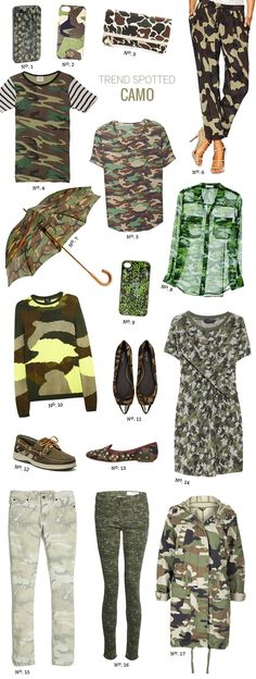// Trend Spotted: Camo by Modern Eve