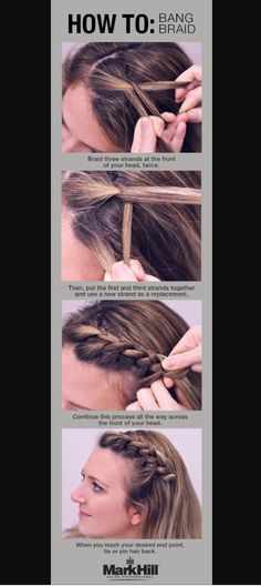 How To: side swept braid hairstyle