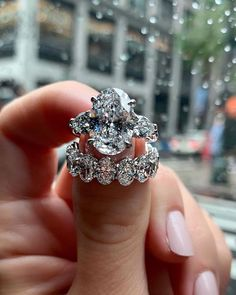 The Most Popular Rings: 2021 Engagement Ring Trends ★ ring trends wedding set oval cut solitaire diamond Stacked Wedding Rings, Cool Wedding Rings, White Gold Wedding Rings, Wedding Ring Designs, Wedding Set, Wedding Bands, Wedding Jewelry, Blue Wedding, Silver Ring