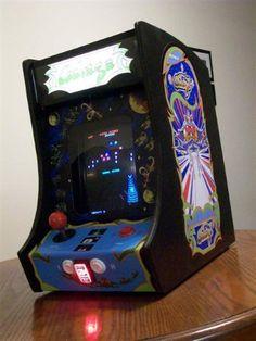 Mini Glaga Arcade cab