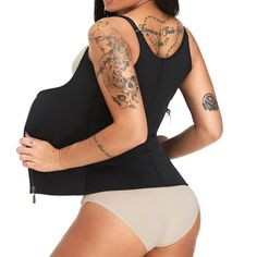 Where to buy a slimming vest? Find slimming body vest, body shaper vest, slimming vest tops, plus size waist trainer vest and other shaper vests on Newchic. Neoprene slimming vest and latex body shaper vest are on hot sale now Mobile. Sport Waist Trainer, Waist Trainer Vest, Latex Waist Trainer, Waist Cincher Corset, Underbust Corset, Marshall, Sweat Workout, Gaines, Slim Waist