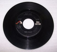 Elvis Presley 45 RPM Record 47-8740  Blue River  Tell Me Why #RocknRoll