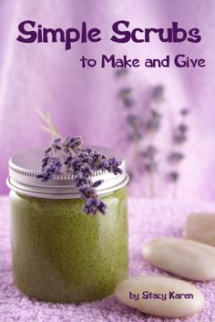 Homemade scrub recipes -- would make great teacher gifts!