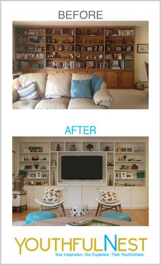 Lighten Up -Living Room Make-over. A local client stepped out of dark & dated and into light & lovely. We worked side by side through a complete remodel and transformed their space into a place they love living in.