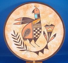 Native American Ceramic & Hand Painted Navajo Indian Pottery Quail Plate by Westly Begaye. $59.99 plus 8.00 shipping. Just Click on the above picture to be taken to the Ebay listing.