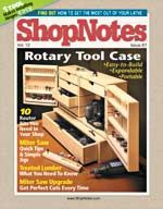 ShopNotes by lomi rice - issuu Garage Workshop Plans, Workshop Storage, Workshop Organization, Diy Workshop, Tool Storage, Woodworking Skills, Woodworking Books, Woodworking Projects, Wood Jig