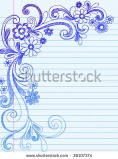hand-drawn-flower-border
