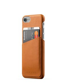 Mujjo Leather Wallet Case for iPhone 7