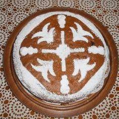 Φανουρόπιτα και στολισμός της συνταγή από Μαριάνθη - Cookpad Food And Drink, Desserts, Tailgate Desserts, Deserts, Postres, Dessert, Plated Desserts
