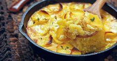 Recette de Gratin de pommes de terre au vin blanc à ma façon. Facile et rapide à réaliser, goûteuse et diététique.